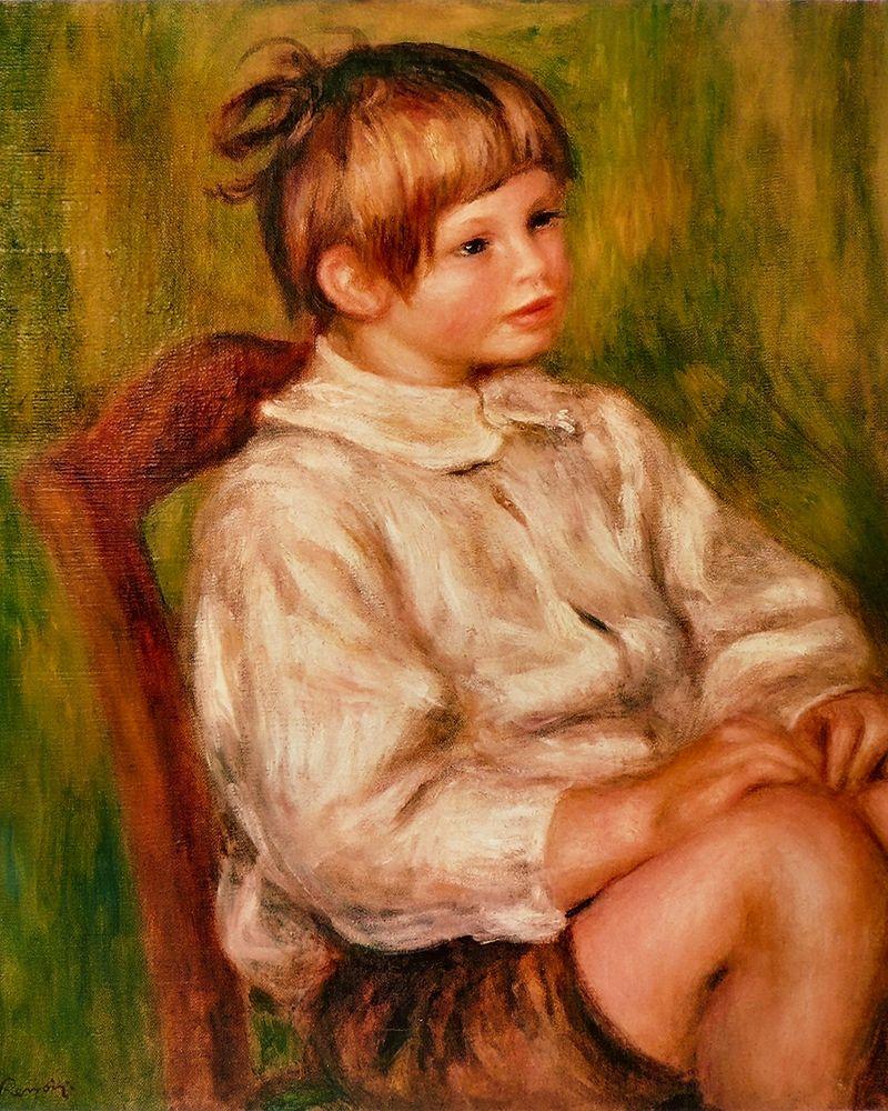 konfigurieren des Kunstdrucks in Wunschgröße Coco Claude Renoir von Renoir, Pierre-Auguste