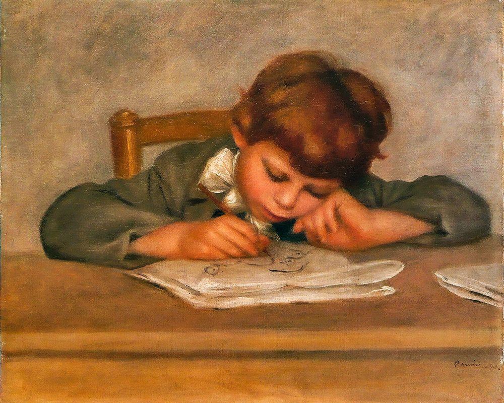 konfigurieren des Kunstdrucks in Wunschgröße Jean Renoir┬ádrawing von Renoir, Pierre-Auguste