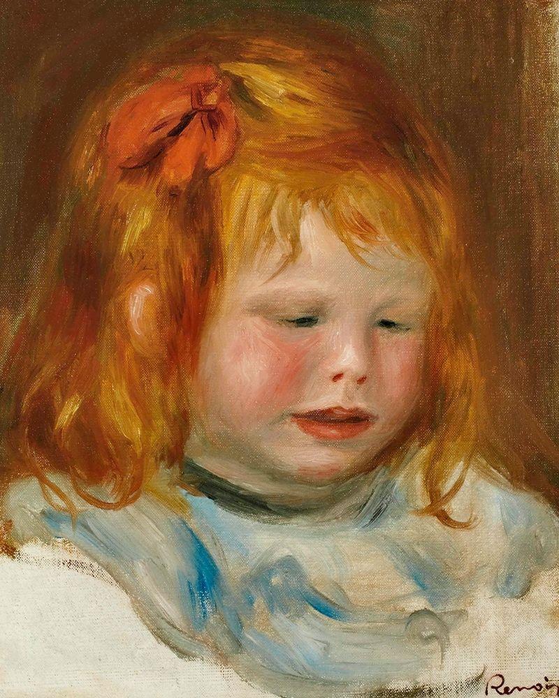 konfigurieren des Kunstdrucks in Wunschgröße Portrait of Jean Renoir 1896 von Renoir, Pierre-Auguste