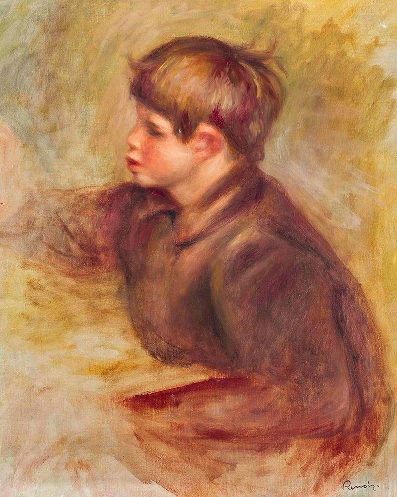 konfigurieren des Kunstdrucks in Wunschgröße Claude Renoir the Painter von Renoir, Pierre-Auguste