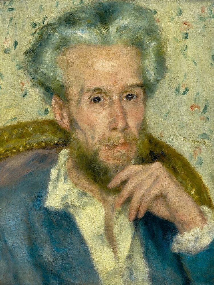 konfigurieren des Kunstdrucks in Wunschgröße Portrait of Victor Chocquet von Renoir, Pierre-Auguste