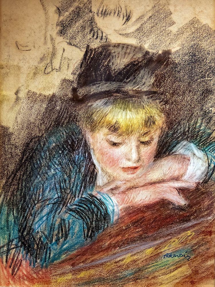 konfigurieren des Kunstdrucks in Wunschgröße Portrait of a girl von Renoir, Pierre-Auguste