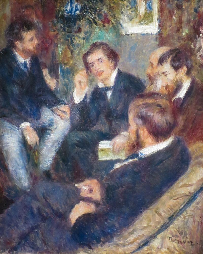 konfigurieren des Kunstdrucks in Wunschgröße At Renoirs Home, rue St. Georges von Renoir, Pierre-Auguste