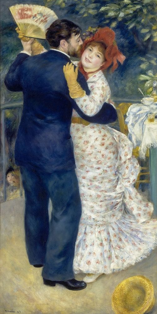 konfigurieren des Kunstdrucks in Wunschgröße Country Dance von Renoir, Pierre-Auguste