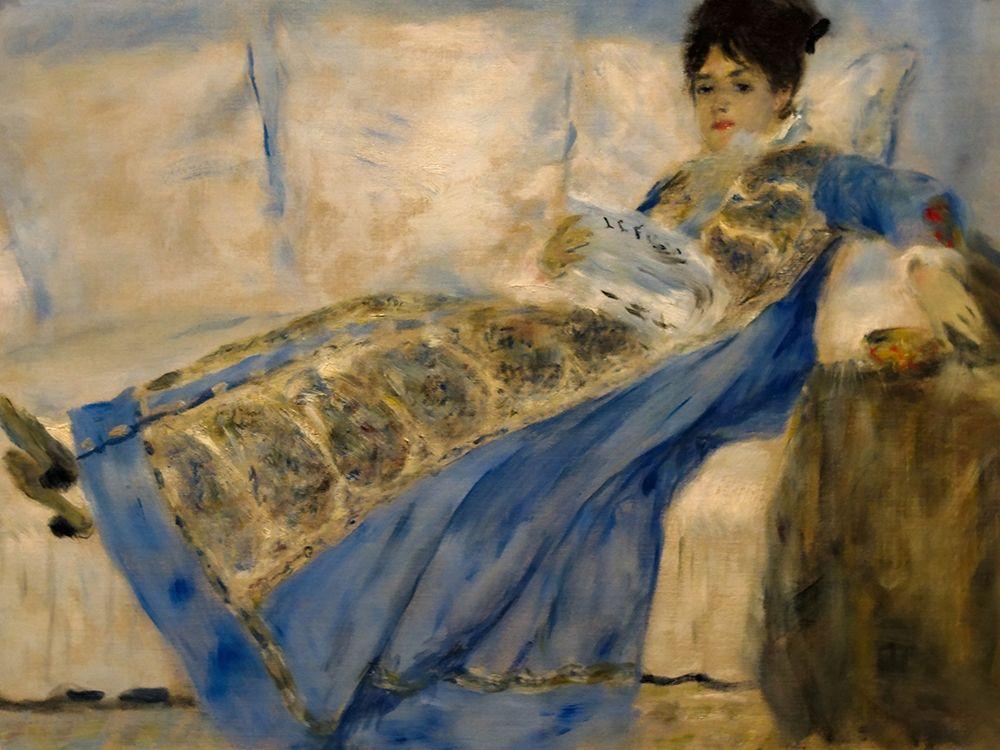 konfigurieren des Kunstdrucks in Wunschgröße Madame Claude Monet von Renoir, Pierre-Auguste