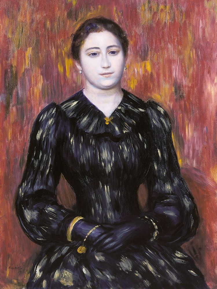 konfigurieren des Kunstdrucks in Wunschgröße Portrait of Mme. Paulin von Renoir, Pierre-Auguste