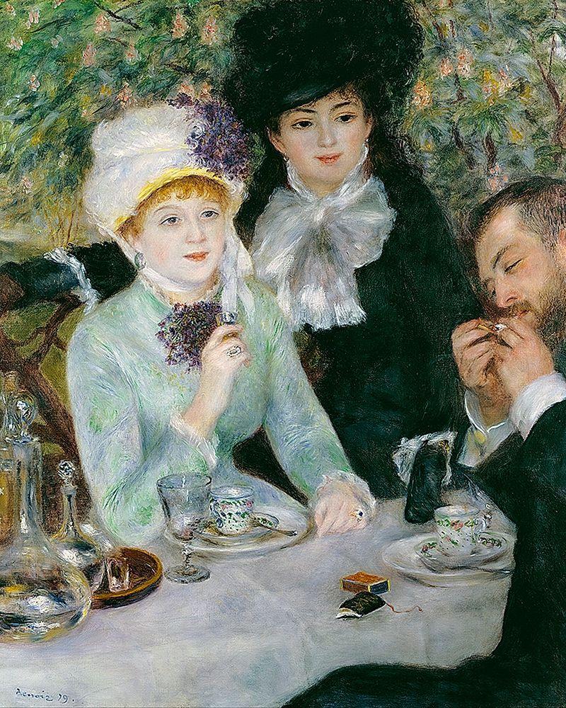 konfigurieren des Kunstdrucks in Wunschgröße After the Luncheon von Renoir, Pierre-Auguste