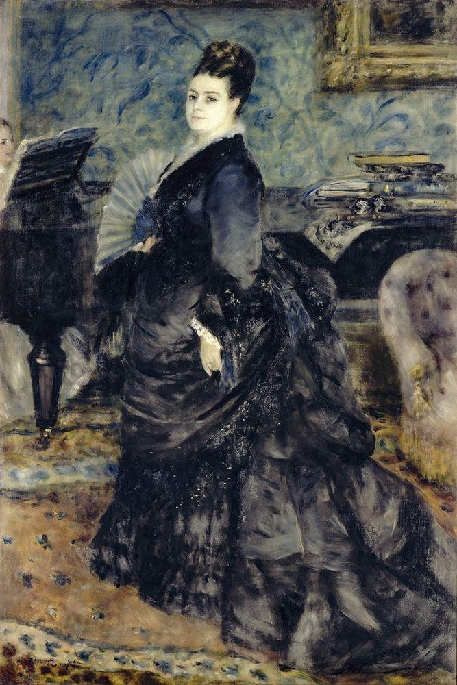 konfigurieren des Kunstdrucks in Wunschgröße Portrait of a Woman, Mme Georges Hartmann von Renoir, Pierre-Auguste