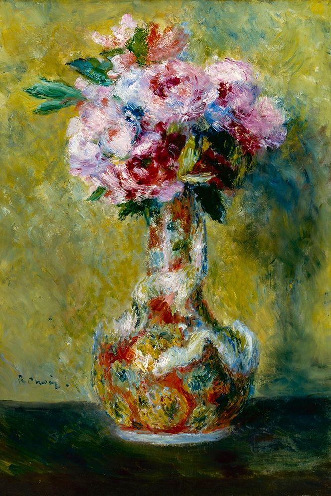 konfigurieren des Kunstdrucks in Wunschgröße Bouquet in a Vase von Renoir, Pierre-Auguste