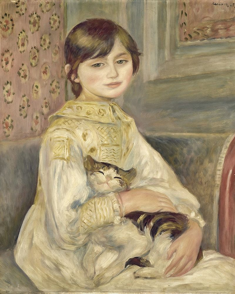 konfigurieren des Kunstdrucks in Wunschgröße Julie Manet von Renoir, Pierre-Auguste