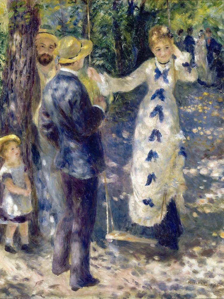 konfigurieren des Kunstdrucks in Wunschgröße The Swing von Renoir, Pierre-Auguste