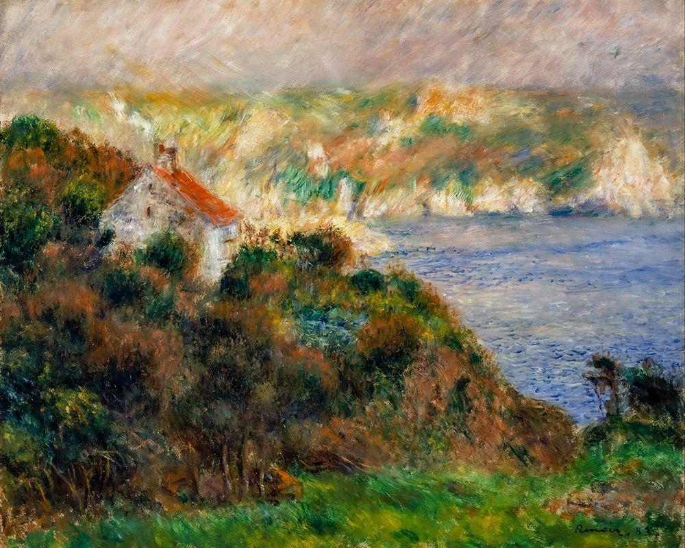 konfigurieren des Kunstdrucks in Wunschgröße Fog on Guernsey von Renoir, Pierre-Auguste