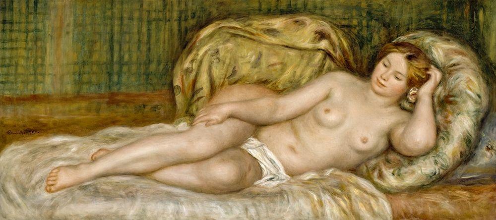 konfigurieren des Kunstdrucks in Wunschgröße Large Nude von Renoir, Pierre-Auguste