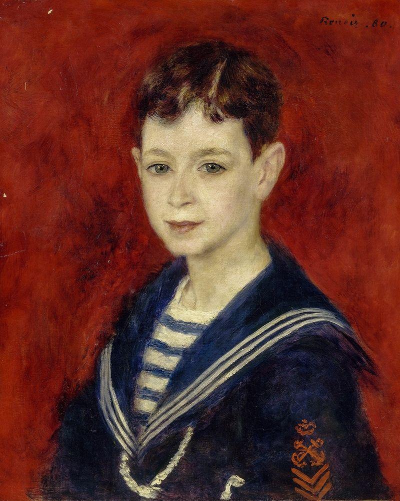 konfigurieren des Kunstdrucks in Wunschgröße Fernand Halphen as a Boy von Renoir, Pierre-Auguste