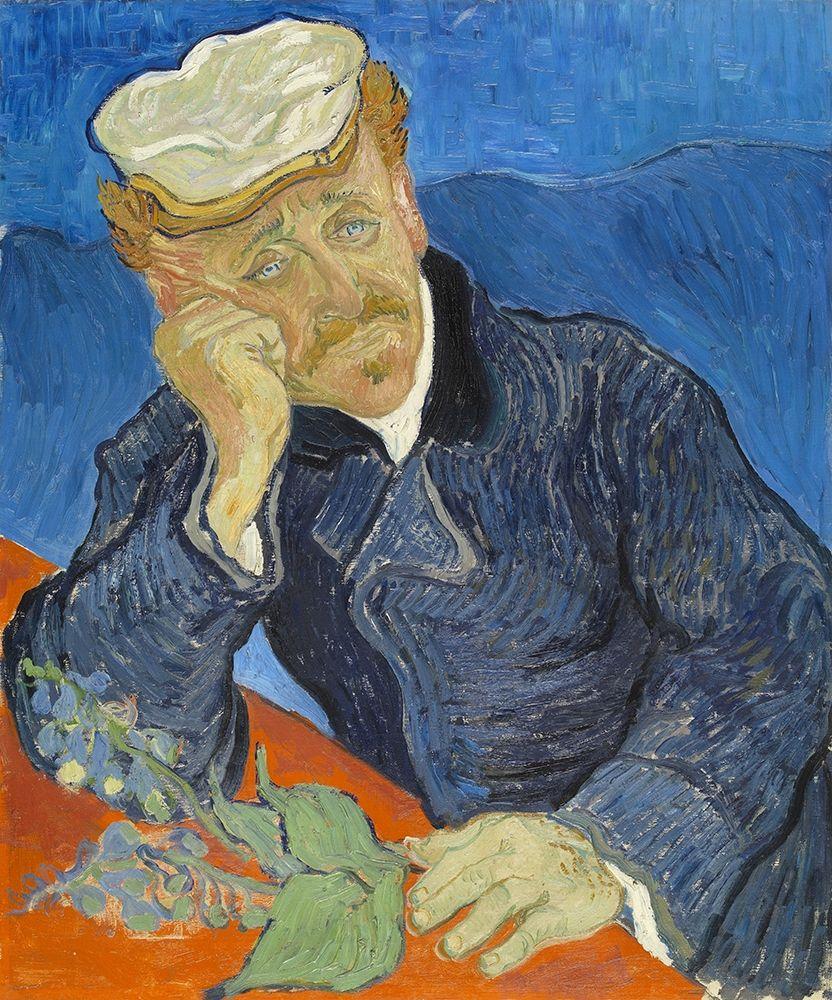 konfigurieren des Kunstdrucks in Wunschgröße Dr Paul Gachet von Van Gogh, Vincent