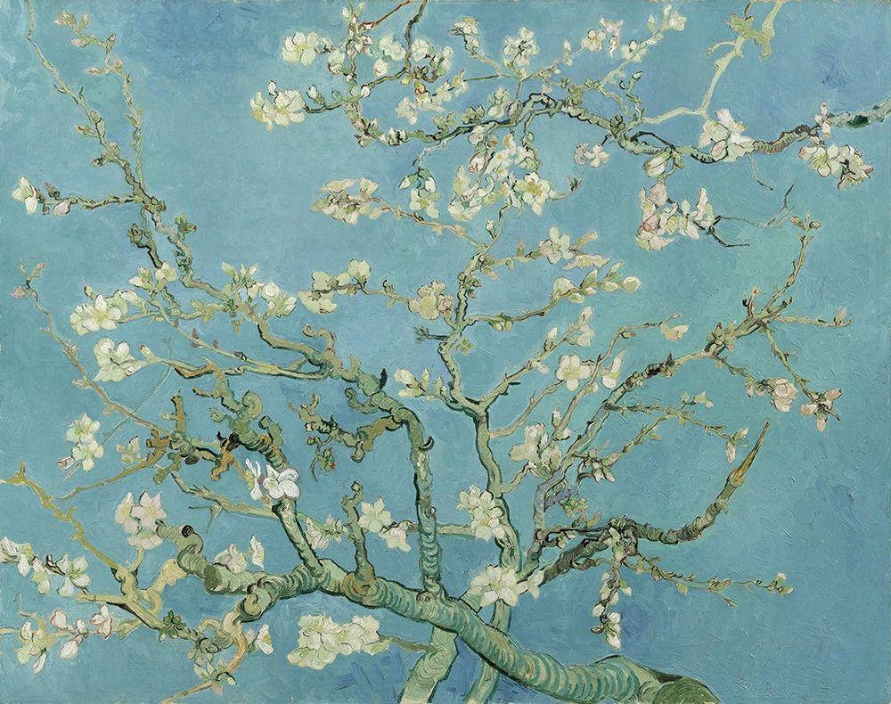 konfigurieren des Kunstdrucks in Wunschgröße Almond blossom von Van Gogh, Vincent