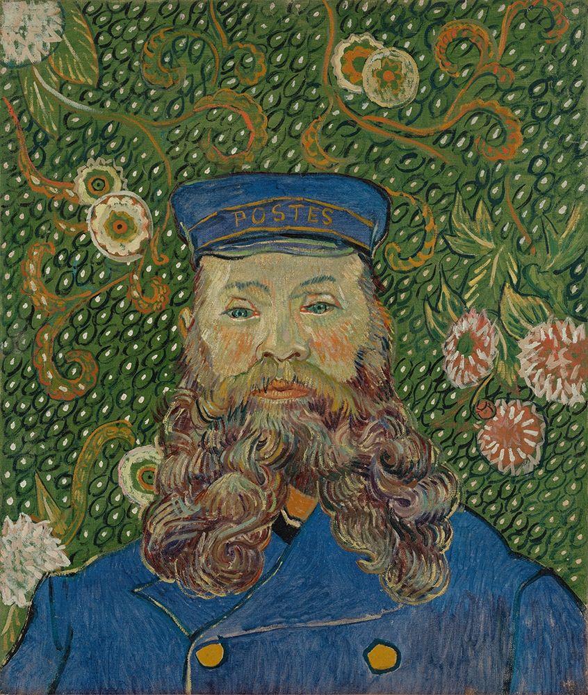 konfigurieren des Kunstdrucks in Wunschgröße Portrait of Joseph Roulin von Van Gogh, Vincent