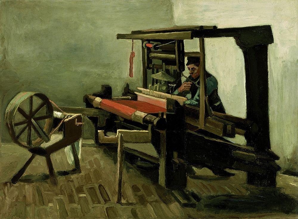 konfigurieren des Kunstdrucks in Wunschgröße Weaver von Van Gogh, Vincent