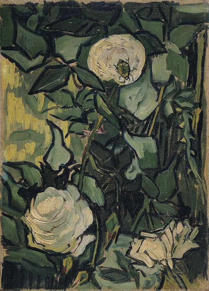 konfigurieren des Kunstdrucks in Wunschgröße Roses von Van Gogh, Vincent