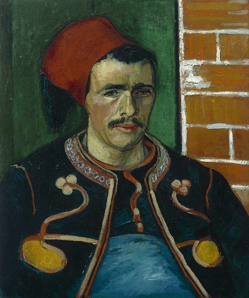konfigurieren des Kunstdrucks in Wunschgröße The Zouave von Van Gogh, Vincent
