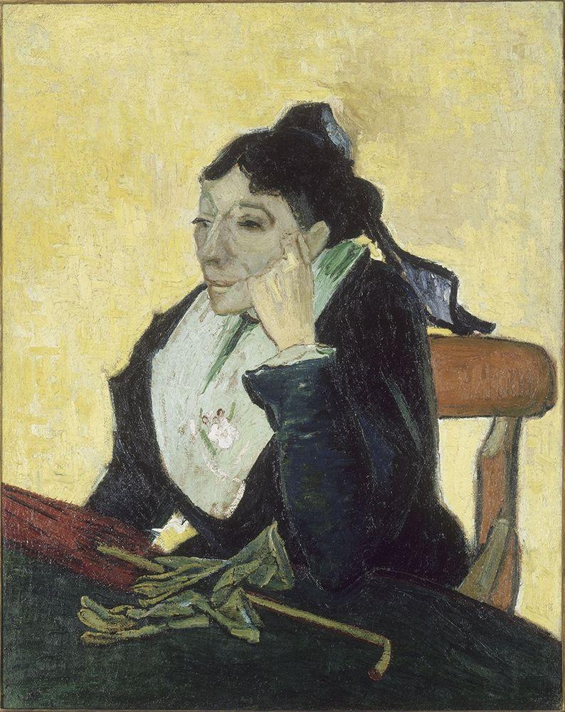 konfigurieren des Kunstdrucks in Wunschgröße The Arlesienne von Van Gogh, Vincent