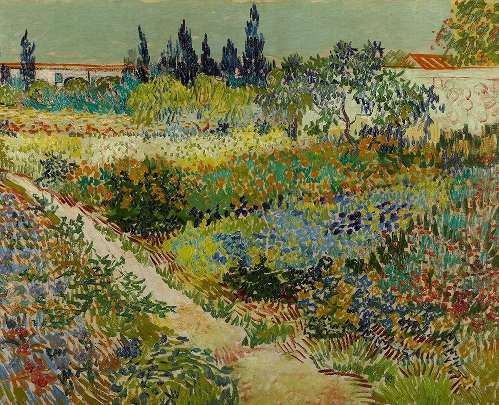 konfigurieren des Kunstdrucks in Wunschgröße Garden at Arles von Van Gogh, Vincent