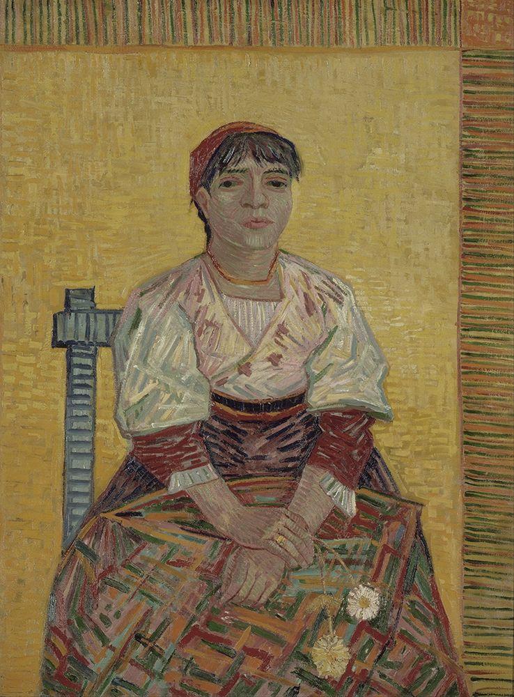 konfigurieren des Kunstdrucks in Wunschgröße The Italian Woman von Van Gogh, Vincent