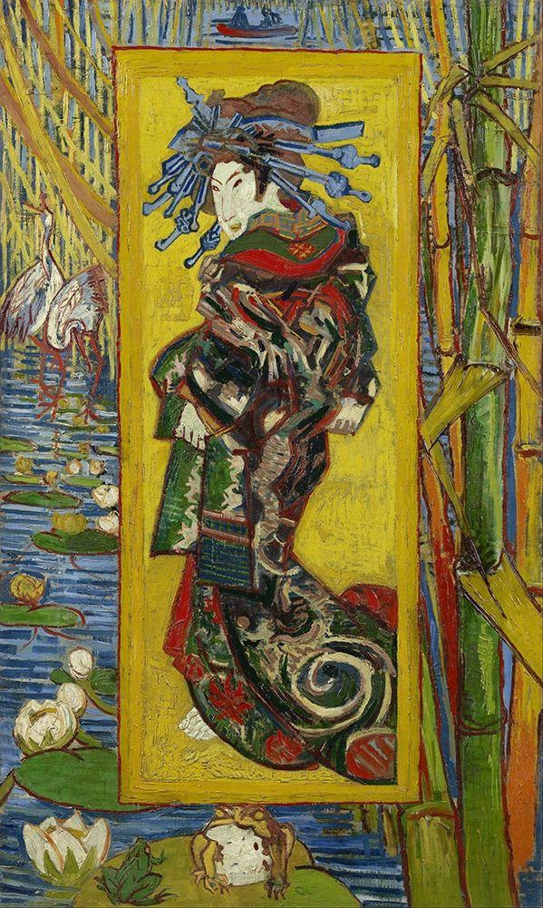 konfigurieren des Kunstdrucks in Wunschgröße Courtesan, after Eisen von Van Gogh, Vincent