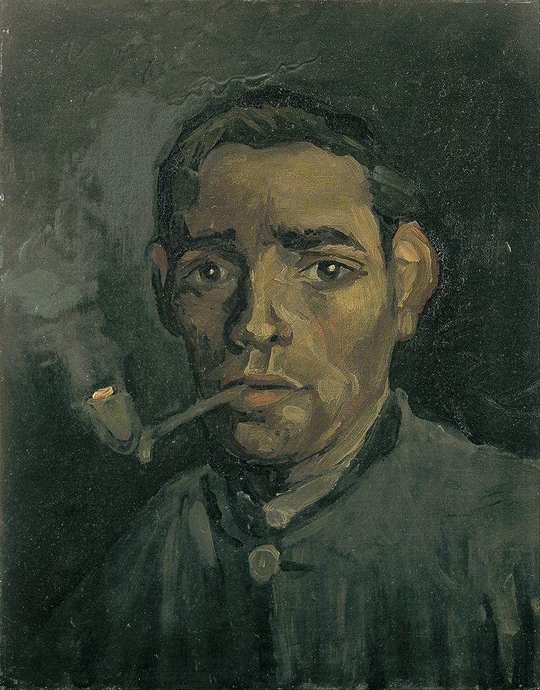 konfigurieren des Kunstdrucks in Wunschgröße Head of a man von Van Gogh, Vincent