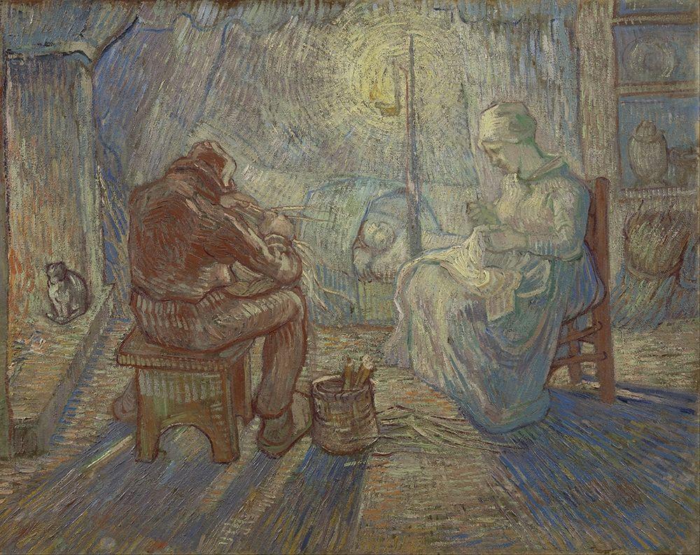 konfigurieren des Kunstdrucks in Wunschgröße Night von Van Gogh, Vincent