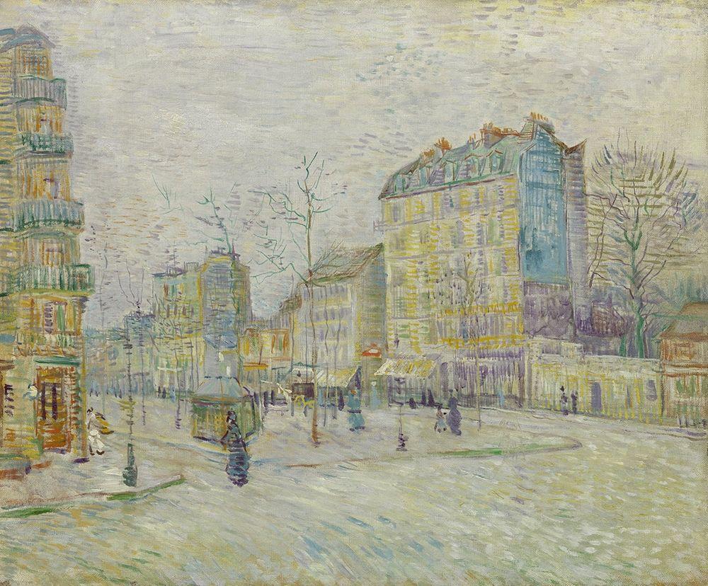 konfigurieren des Kunstdrucks in Wunschgröße Boulevard de Clichy von Van Gogh, Vincent