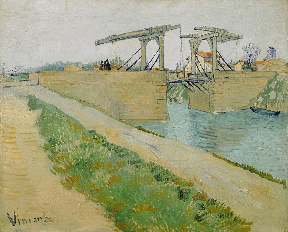 konfigurieren des Kunstdrucks in Wunschgröße The Langlois bridge von Van Gogh, Vincent