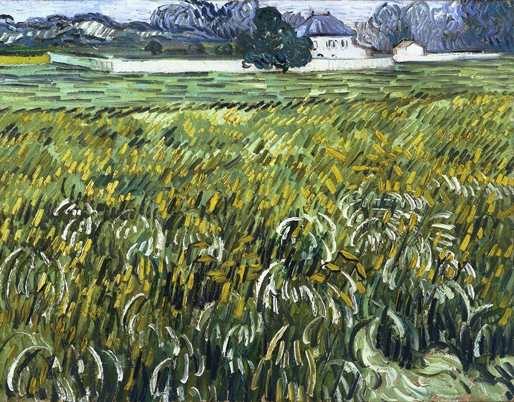 konfigurieren des Kunstdrucks in Wunschgröße House at Auvers von Van Gogh, Vincent