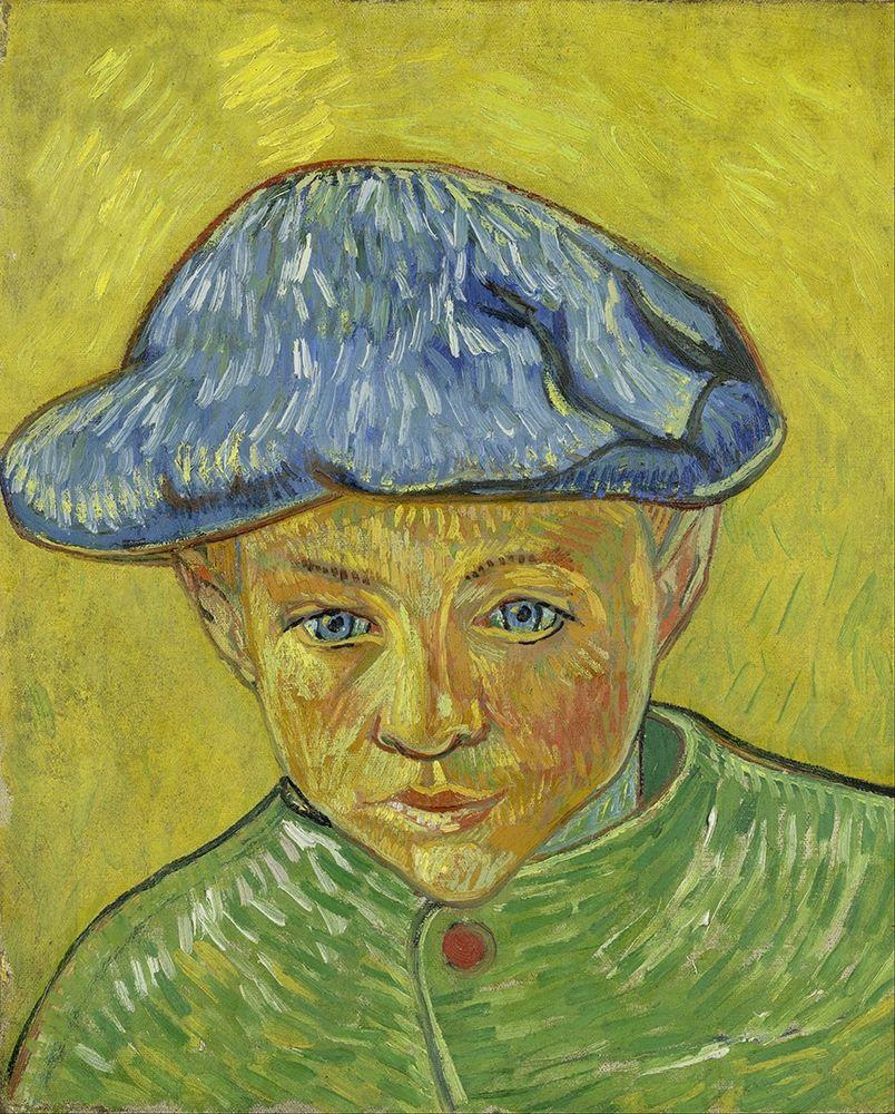 konfigurieren des Kunstdrucks in Wunschgröße Portrait of Camille Roulin von Van Gogh, Vincent