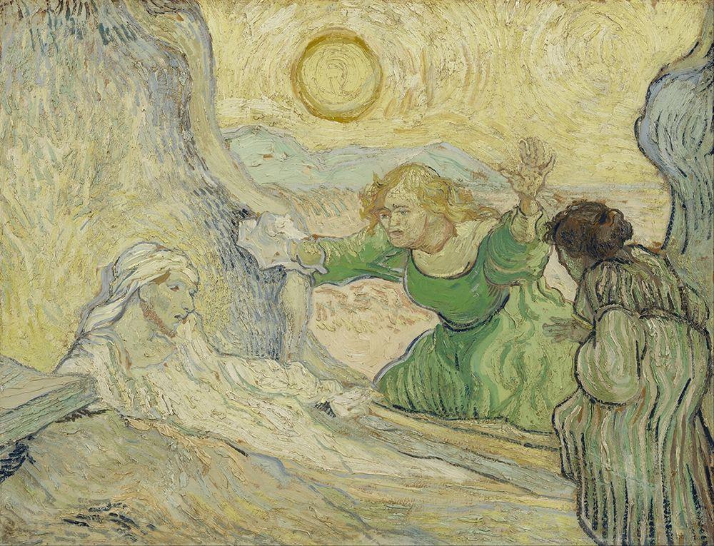 konfigurieren des Kunstdrucks in Wunschgröße The raising of Lazarus von Van Gogh, Vincent