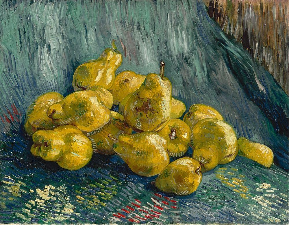 konfigurieren des Kunstdrucks in Wunschgröße Still Life with Quinces von Van Gogh, Vincent