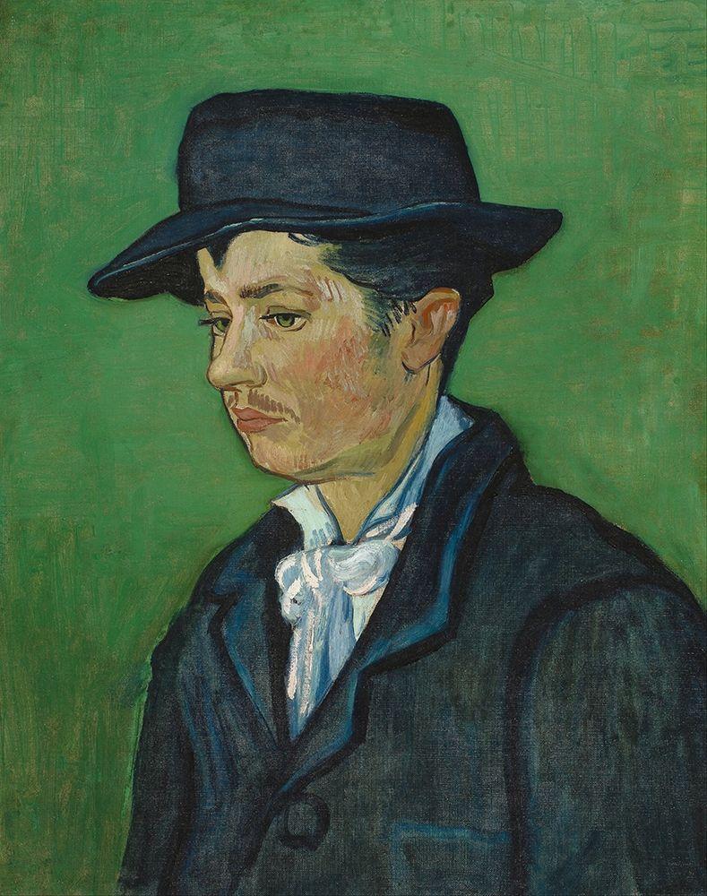 konfigurieren des Kunstdrucks in Wunschgröße Portrait of Armand Roulin von Van Gogh, Vincent