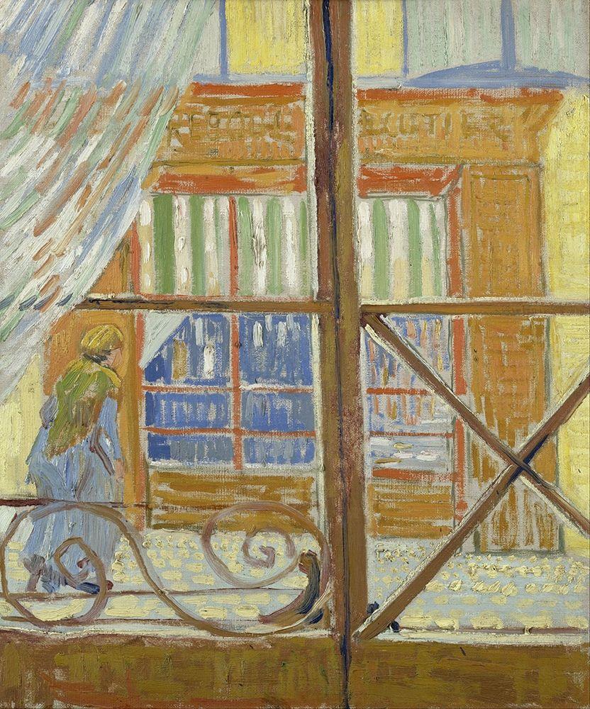 konfigurieren des Kunstdrucks in Wunschgröße View of a butchers shop von Van Gogh, Vincent