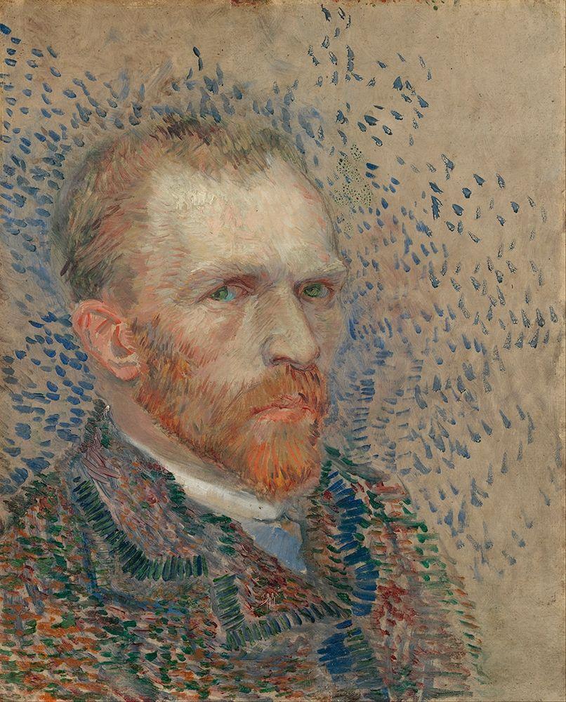 konfigurieren des Kunstdrucks in Wunschgröße Self-portrait von Van Gogh, Vincent