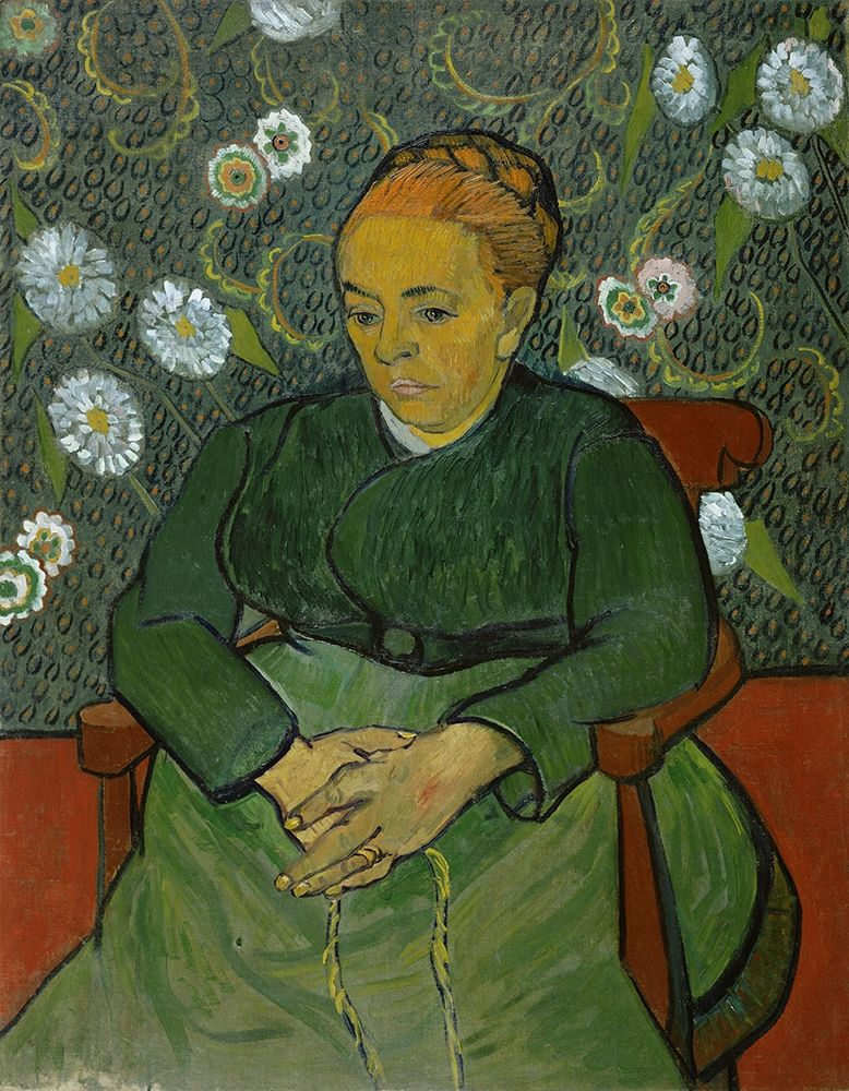 konfigurieren des Kunstdrucks in Wunschgröße Portrait of Madame Roulin von Van Gogh, Vincent