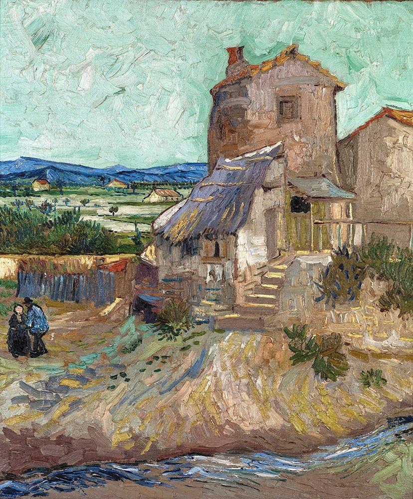 konfigurieren des Kunstdrucks in Wunschgröße The Old Mill von Van Gogh, Vincent