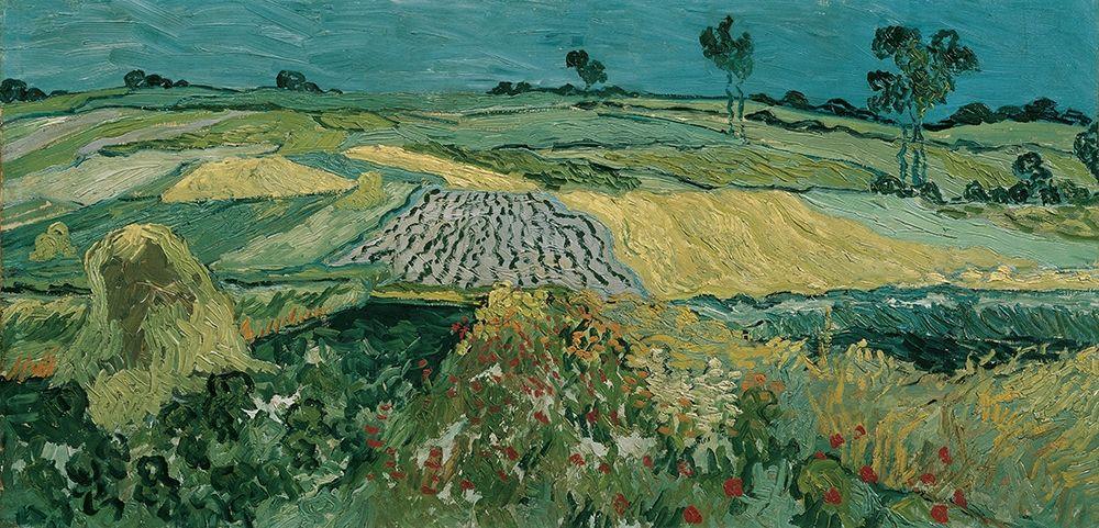 konfigurieren des Kunstdrucks in Wunschgröße The Plain of Auvers von Van Gogh, Vincent