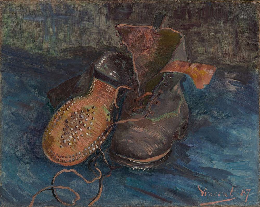 konfigurieren des Kunstdrucks in Wunschgröße A Pair of Boots von Van Gogh, Vincent
