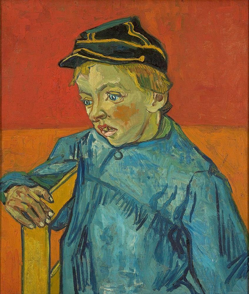konfigurieren des Kunstdrucks in Wunschgröße The Schoolboy von Van Gogh, Vincent