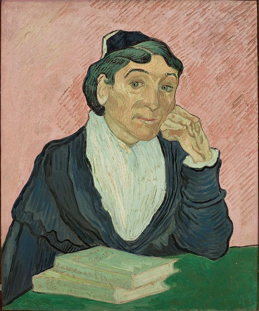 konfigurieren des Kunstdrucks in Wunschgröße The Woman from Arles von Van Gogh, Vincent
