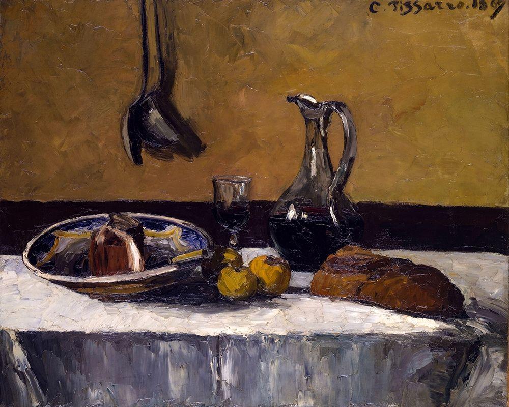 konfigurieren des Kunstdrucks in Wunschgröße Still Life von Pissarro, Camille