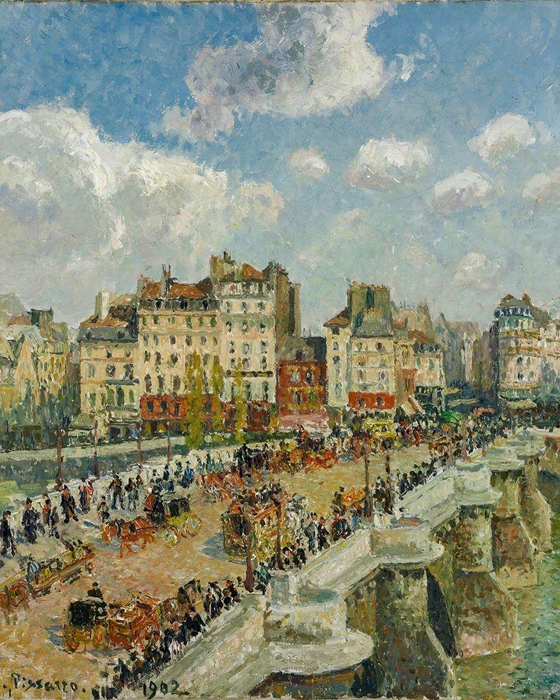 konfigurieren des Kunstdrucks in Wunschgröße The Pont-Neuf von Pissarro, Camille