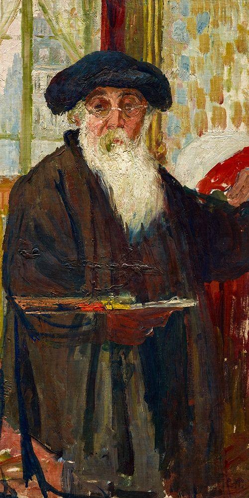 konfigurieren des Kunstdrucks in Wunschgröße Self Portrait von Pissarro, Camille