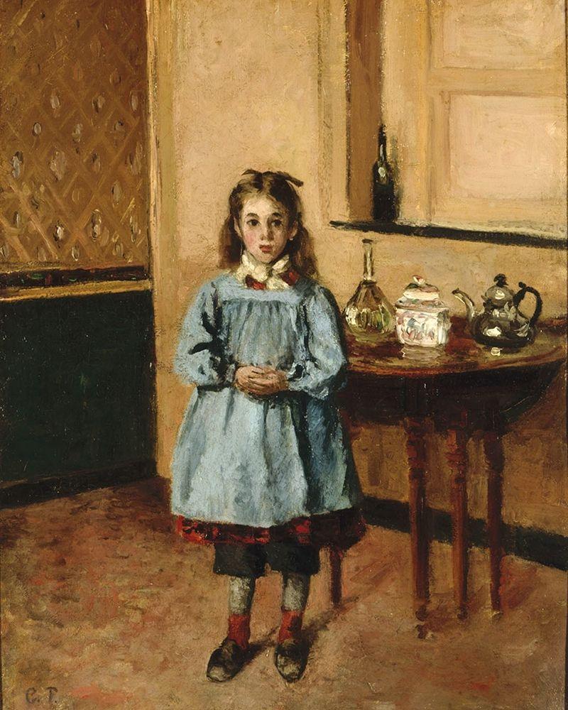 konfigurieren des Kunstdrucks in Wunschgröße Minette von Pissarro, Camille