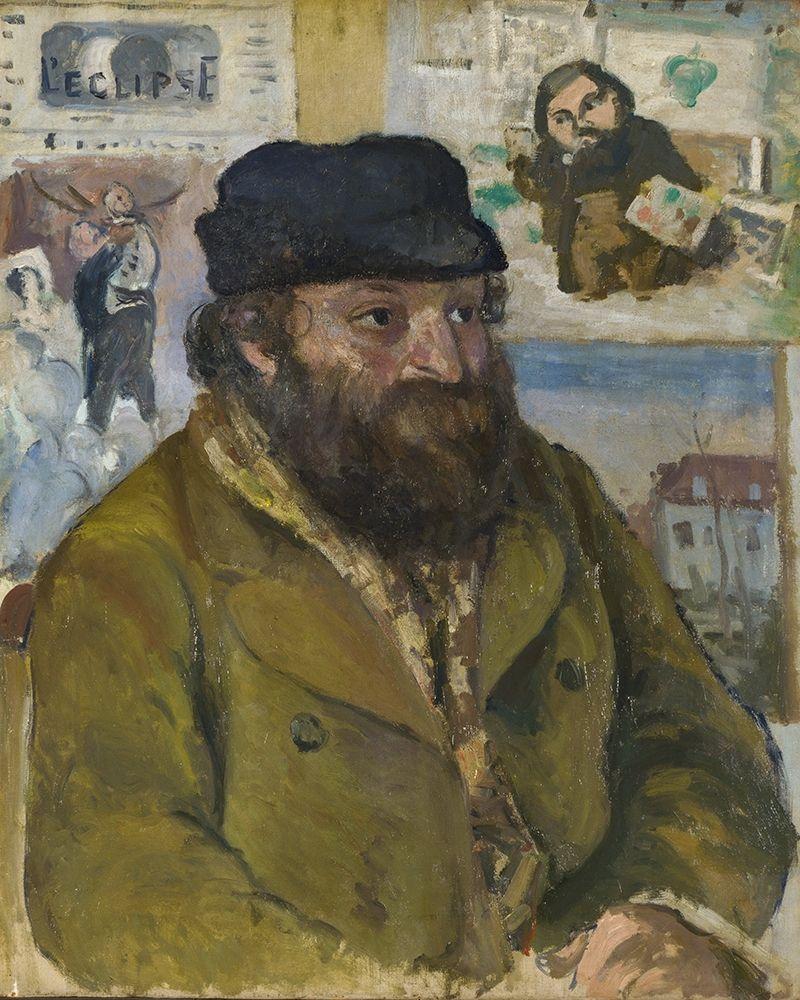 konfigurieren des Kunstdrucks in Wunschgröße Portrait of Cezanne von Pissarro, Camille